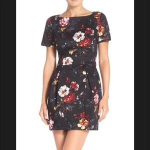 French connection floral pencil dress